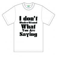 Idon't Tシャツ 白 Mサイズ
