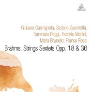 弦楽六重奏曲第1番、第2番 ジュリアーノ・カルミニョーラ、マリオ・ブルネロ、フランコ・ロッシ、他