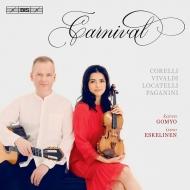 『謝肉祭〜ヴァイオリンとギターのための作品集』 五明カレン、イスモ・エスケリネン