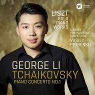 チャイコフスキー:ピアノ協奏曲第1番、リスト:ピアノ作品集 ジョージ・リー、ワシリー・ペトレンコ&ロンドン・フィル