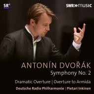 交響曲第2番、劇的序曲、『アルミーダ』序曲 ピエタリ・インキネン&ドイツ放送フィル