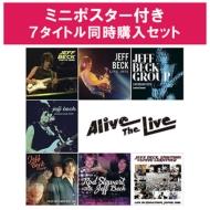 ジェフ・ベック 12/6発売Alive The Live シリーズ 【ポスター特典付き7タイトル同時購入セット】(11CD)
