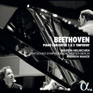 ピアノ協奏曲第5番『皇帝』、第2番 マルティン・ヘルムヒェン、アンドルー・マンゼ&ベルリン・ドイツ交響楽団