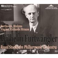 Wilhelm Furtwangler / Stockholm Philharmonic : Beethoven, Brahms, R.Strauss, Wagner 1942-48 (4CD)
