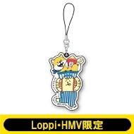 ラバーストラップ / ごろごろにゃんすけ&しばんばん【Loppi・HMV限定】