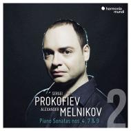 ピアノ・ソナタ第4番、第7番、第9番 アレクサンドル・メルニコフ