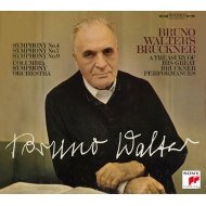 Bruckner Symphonies Nos.4, 7, 9, Wagner Siegfried Idyll, Orchestral Music : Bruno Walter / Columbia Symphony Orchestra (4SACD)(Hybrid)(+CD)