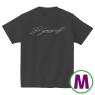 Be yourself Tシャツブラック(M)