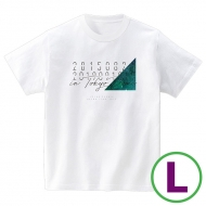 in TOKYO DOME Tシャツ ホワイト(L)