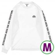 ロングスリーブTシャツ ホワイト(M)