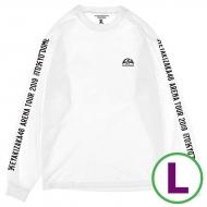 ロングスリーブTシャツ ホワイト(L)
