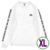 ロングスリーブTシャツ ホワイト(XL)