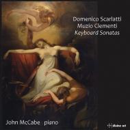 D.スカルラッティ:ソナタ集、クレメンティ:ピアノ・ソナタ集 ジョン・マッケイブ(2CD)