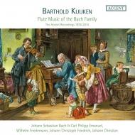 バッハ一族のフルート音楽集 バルトルド・クイケン、エヴァルト・デマイヤー、ラ・プティット・バンド、他(8CD)