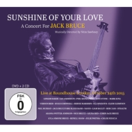 Sunshine Of Your Love: A Concert For Jack Bruce (2CD+DVD)