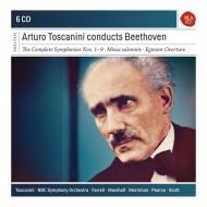 交響曲全集、ミサ・ソレムニス アルトゥーロ・トスカニーニ&NBC交響楽団(6CD)