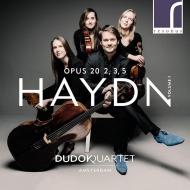 弦楽四重奏曲集 Op.20 第1集 アムステルダム・デュドック四重奏団