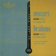 Mozart Clarinet Quintet, Brahms Clarinet Quintet : Leopold Wlach(Cl)Vienna Konzerthaus Quartet (UHQCD)