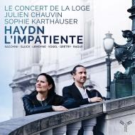 ハイドン:交響曲第87番、ラグエ:交響曲、同時代の作曲家によるアリア ジュリアン・ショヴァン&ル・コンセール・ド・ラ・ローグ、ゾフィー・カルトホイザー