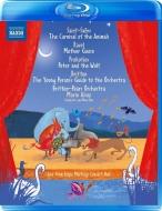 子供たちのための音楽集〜動物の謝肉祭、ピーターと狼、青少年のための管弦楽入門、マ・メール・ロワ マリン・オールソップ&ブリテン=ピアーズ管弦楽団