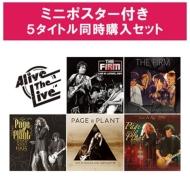 ジミー・ペイジ 10/18発売Alive The Live シリーズ 【ポスター特典付き5タイトル同時購入セット】(9CD)