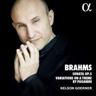ピアノ・ソナタ第3番、パガニーニの主題による変奏曲 ネルソン・ゲルナー