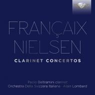 Clarinet Concerto: Beltramini(Fl)Lombard / Svizzera Italiana O +nielsen: Clarinet Concerto