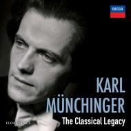 『カール・ミュンヒンガー〜クラシカル・レガシー』 ウィーン・フィル、シュトゥットガルト室内管弦楽団(8CD)
