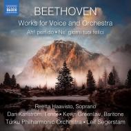管弦楽伴奏付声楽作品集 レイフ・セーゲルスタム&トゥルク・フィル、レーッタ・ハーヴィスト、ダン・カールストレム、ケヴィン・グリーンロウ