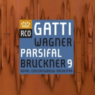 Bruckner Symphony No.9, Wagner from Parsifal : Daniele Gatti / Concertgebouw Orchestra (Hybrid)