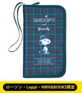【LAWSON・Loppi・HMV&BOOKS限定】SNOOPY やりくり上手のマルチポーチBOOK