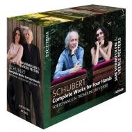 4手連弾のための作品全集 ヤン・フェルミューレン、ヴェールレ・ペーテルス(フォルテピアノ)(7CD)