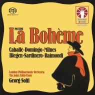 『ボエーム』全曲 ゲオルグ・ショルティ&ロンドン・フィル、モンセラート・カバリエ、プラシド・ドミンゴ、他(1973 ステレオ)(2SACD)