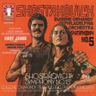 ショスタコーヴィチ:交響曲第5番『革命』 、第15番、コダーイ:ハーリ・ヤーノシュ、他 ユージン・オーマンディ&フィラデルフィア管弦楽団(2SACD)