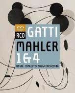 交響曲第1番『巨人』、第4番 ダニエーレ・ガッティ&コンセルトヘボウ管弦楽団、ユリア・クライター(日本語解説付)