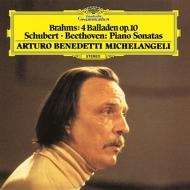 Michelangeli: Beethoven, Schubert: Piano Sonata, 4, Brahms: Ballades (Uhqcd)