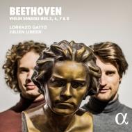 ヴァイオリン・ソナタ第3番、第6番、第7番、第8番 ロレンツォ・ガット、ジュリアン・リベール