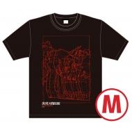 炎炎ノ消防隊×久米繊維 コラボTシャツ ビジュアル(Mサイズ)