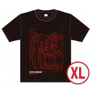 炎炎ノ消防隊×久米繊維 コラボTシャツ ビジュアル(XLサイズ)