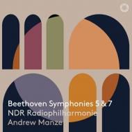交響曲第5番『運命』、第7番 アンドルー・マンゼ&北ドイツ放送フィル