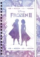 ゴムバンド付きリングノート / アナと雪の女王2