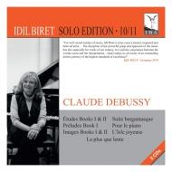 練習曲集、前奏曲集 第1巻、映像 第1集、第2集、喜びの島、ベルガマスク組曲、他 イディル・ビレット(2CD)
