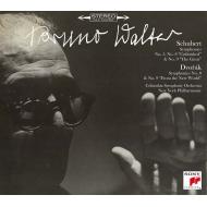 シューベルト:交響曲第5番、第8番、第9番、ドヴォルザーク:交響曲第8番、第9番 ブルーノ・ワルター&コロンビア交響楽団、ニューヨーク・フィル(3SACD+1CD)