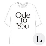 ハーフスリーブTシャツ WHITE L / SEVENTEEN WORLD TOUR <ODE TO YOU> IN JAPAN
