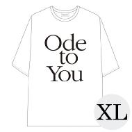 ハーフスリーブTシャツ WHITE XL / SEVENTEEN WORLD TOUR <ODE TO YOU> IN JAPAN