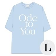 ハーフスリーブTシャツ BLUE L / SEVENTEEN WORLD TOUR <ODE TO YOU> IN JAPAN