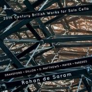 20世紀の独奏チェロ作品集 ロハン・デ・サラム