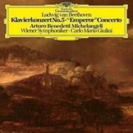 ピアノ協奏曲第5番『皇帝』 アルトゥーロ・ベネデッティ・ミケランジェリ、カルロ・マリア・ジュリーニ&ウィーン交響楽団 (アナログレコード/Deutsche Grammophon)