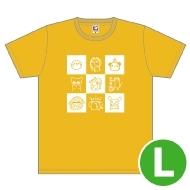 夏川椎菜 Tシャツ(L)/ Music Rainbow 06