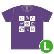 寿美菜子 Tシャツ(L)/ Music Rainbow 06